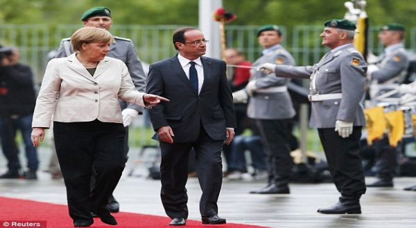 Foto : Merkel & Hollande (reuters)