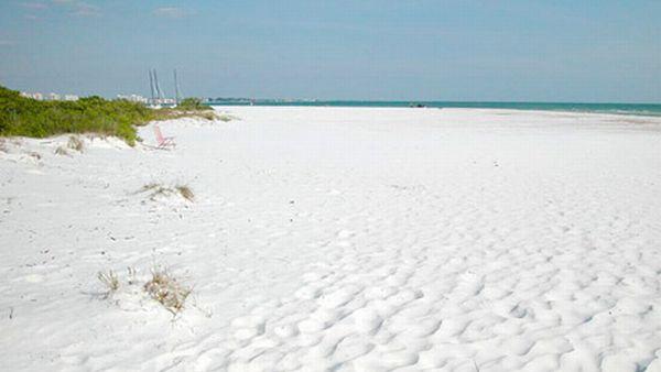 pantai Siesta, Florida (Foto: allthingssiestakey)