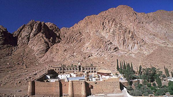 Gunung Sinai, Mesir (Foto: sacredsites)