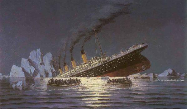 Titanic yang tenggelam 100 tahun lalu (Foto: titanicuniverse)