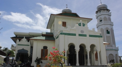 Masjid Baiturrahim, Banda Aceh (Foto: Okezone/Salman Mardira)