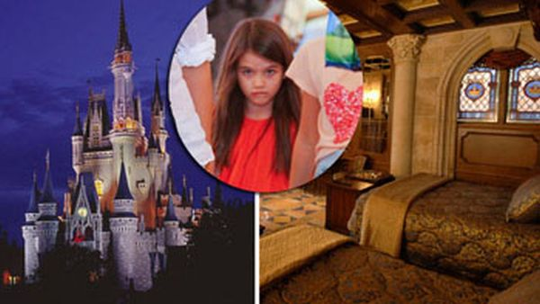Suri Cruise menginap di Kastil CInderella, Disney World Florida (Foto: blogs.babble)