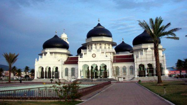 Mesjid Baiturrahman, Aceh (Foto: Infowisataku)