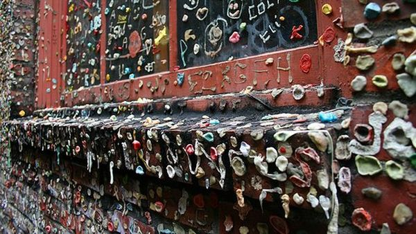 Wall of Gum, Seattle (Foto: photopostsblog)
