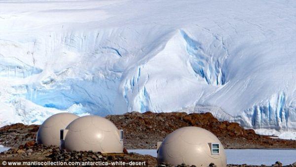 Perkemahan Super Mewah di Tempat Terdingin di Dunia