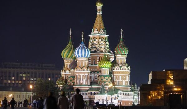 Katedral Santo Basil, Moskow, Rusia (Foto: sanpaulo)