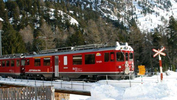 Kereta Swiss, ternyata tidak bebas pencuri (Foto: Dailymail)