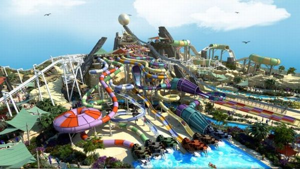 Yas Waterworld, Abu Dhabi (Foto: 24x7globalnews.com)