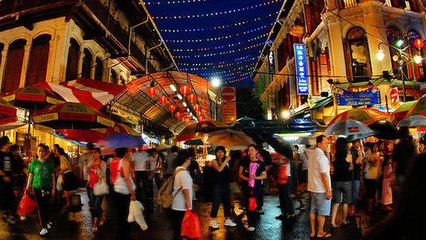 Suasana Imlek di Chinatown, Singapura (Foto: goseasia)