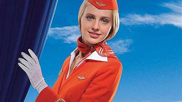 Pramugari Paling Stylish di Dunia Maskapai, pramugari Aeroflot