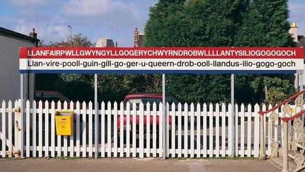 Desa dengan nama terpanjang di dunia (Foto: BBC)