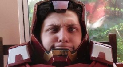 Penggemar Iron Man (Foto: Metro)