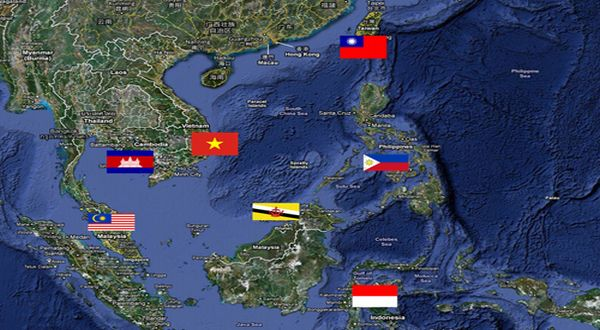 Laut China Selatan yang menjadi sengketa (Foto: AFP)