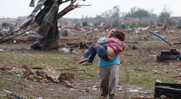 Korban Tornado Oklahoma (Foto: AP)