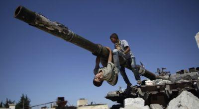 Anak-anak Suriah (Foto: BBC)