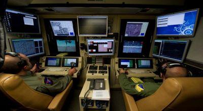 Ruang Kendali Serangan Drone (Foto: Reuters)