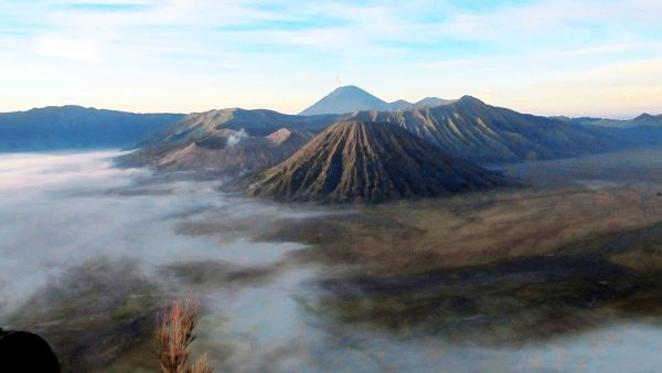 Gunung Bromo, Jawa Timur (Foto: Mutya/Okezone)