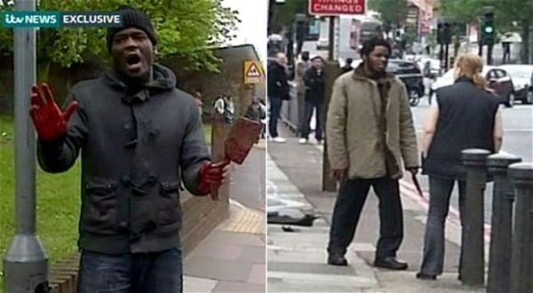 Pelaku Pembunuhan Tentara di Woolwich (Foto: ITV)