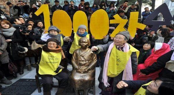 Foto : Eks-budak seks Jepang (AFP)