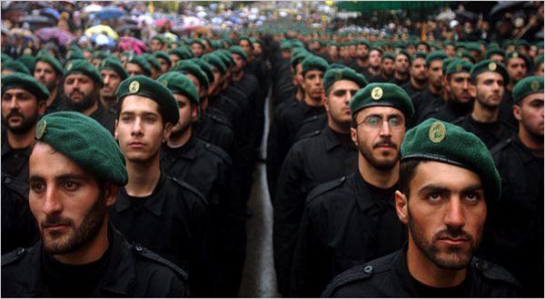 Foto : Pasukan Hizbullah (NYTimes)
