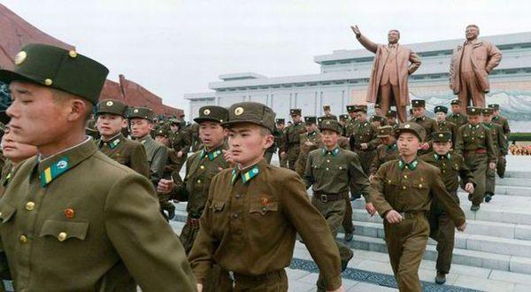 Foto: Militer Korut (Reuters)