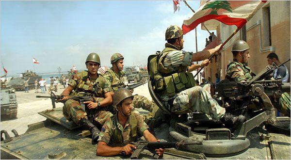 Foto: Pasukan Lebanon (NY Times)