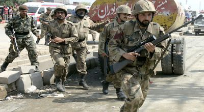 Foto : Pasukan Pakistan (IST)