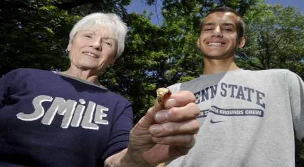 Cincin yang ditemukan kembali (Foto: New York Daily News)