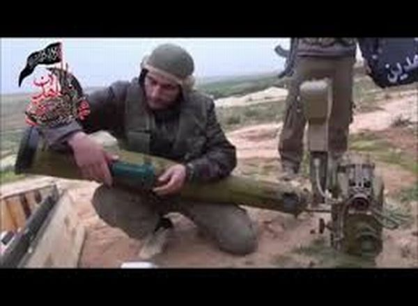 Militan Suriah Siapkan Rudal Konkurs (Foto: Liveleak)