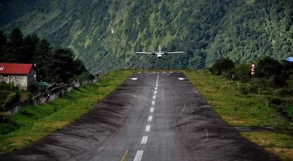 Bandara yang berbahaya di Nepal (Foto: Orange)