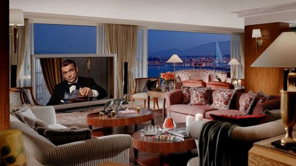 The Royal Penthouse Suite of the President Wilson hotel di Jenewa, Swiss (Foto: dailymail)