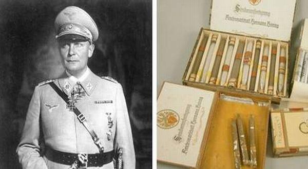 Cerutu Milik Hermann Goering (Foto: Independent)