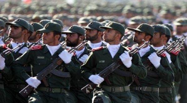 Pasukan Garda Revolusi Iran (Foto: AFP)