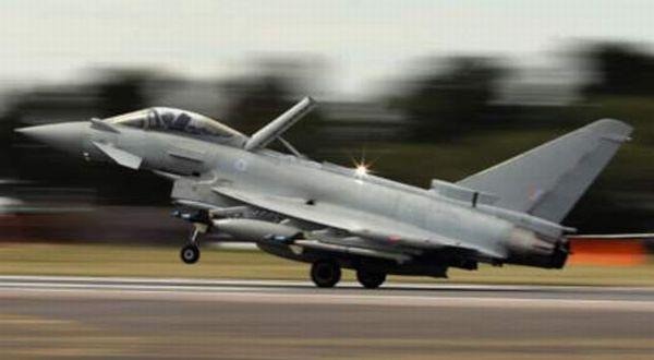 Jet Tempur Typhonn Milik Inggris