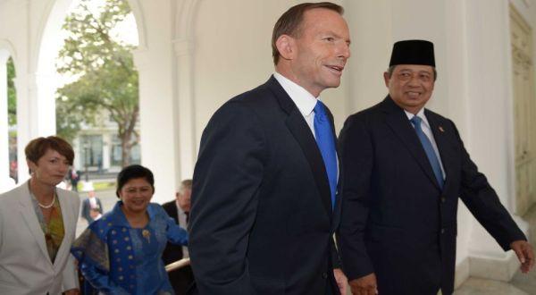 PM Abbott dan Presiden SBY (Foto: AFP)
