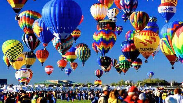 Festival Balon Internasional Albuquerque (Foto: laufertravel)