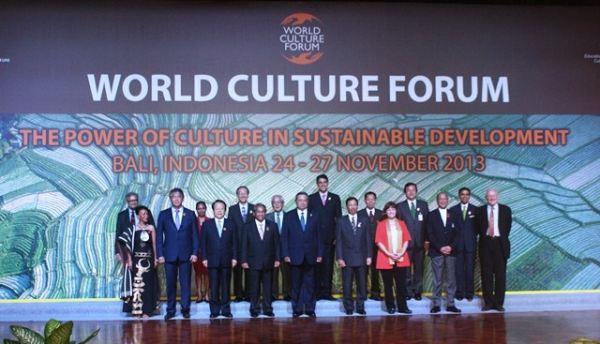 Pembukaan World Culture Forum di Bali (Foto: Rohmat/Okezone)