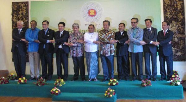 Pertemuan Menlu ASEAN di Myanmar (Foto: dok.Kemlu)
