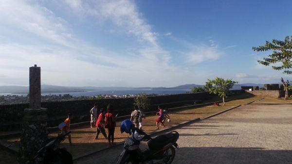Benteng Keraton Buton (Foto: Mutya/Okezone)