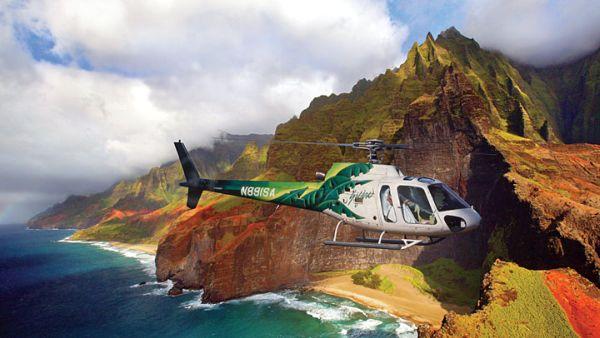 Hasil gambar untuk WISATA HELIKOPTER HAWAII VOLCANO
