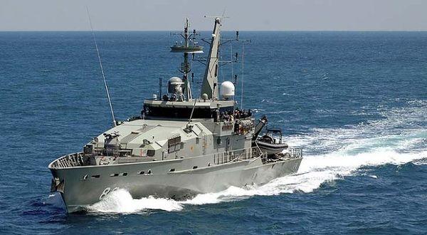 Kapal Australia HMAS Maitland yang mendepak pencari suaka (Foto: SMH)