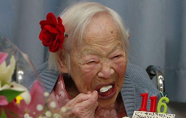Sushi, Rahasia Panjang Umur Wanita Tertua di Dunia