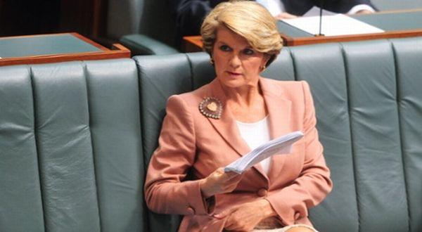 Menlu Australia Julie Bishop (Foto: AFP)
