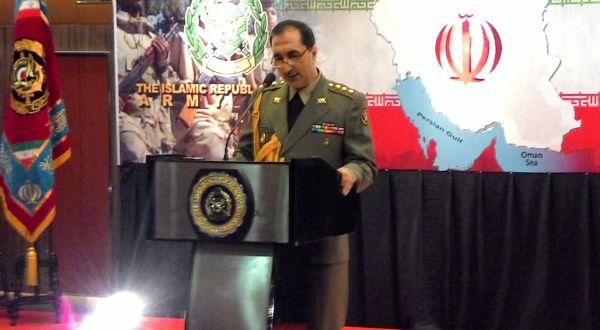 Atase Militer Iran Ali Maktabi Fard (Foto: Angga Mahaputra/Okezone)