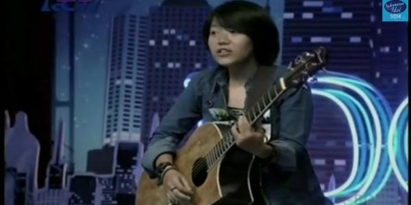 Riska Afrillia (Foto: Indonesian Idol)