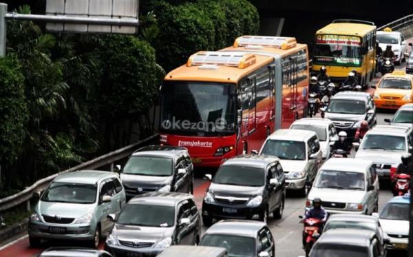 Bus Transjakarta Beroperasi Normal saat Hari Pencoblosan