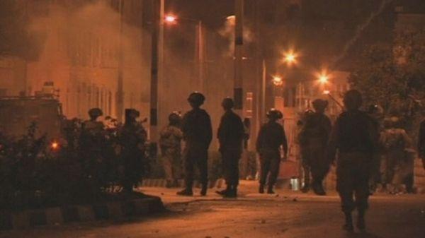 Pejuang Palestina terlibat kericuhan denga Militer Israel di Betlehem (Foto:RTV)