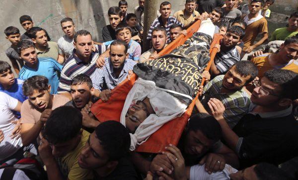 Jumlah korban tewas di Gaza capai 120 orang (Foto: Reuters)
