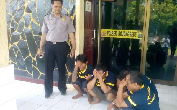 Polisi Tangkap Garong Spesialis Mobil