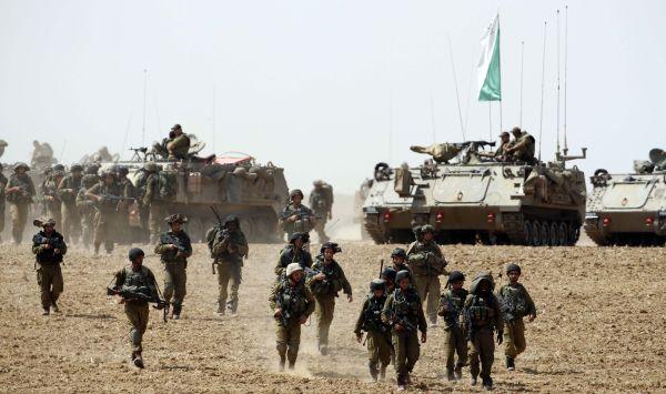 Israel kembali lancarkan serangan darat ke Gaza (Foto: Reuters)